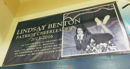 Lindsay's banner