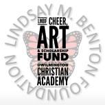 LMBF cheer art scholarship