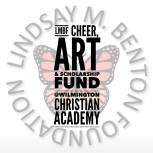 LMBF cheer art scholarship